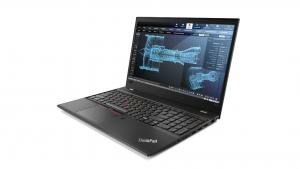 Lenovo ThinkPad P52s w tej popularnej konfiguracji to też bardzo dobra matowa matryca w standardzie, dzięki niej bardzo dobrze widać to co dzieje się na ekranie w miejscu obficie nasłonecznionym