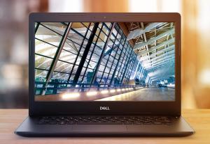 Dell Latitude 3490 to urodziwa i ciekawa obudowa, 14 cali ekranu, matowa matryca, mocny procesor Core i5 ósmej generacji, czytnik kart pamięci, 32 giga pamięci ram, 512 giga na dysku SSD, Bluetooth, jeden port HDMI, trzy porty typu USB, pojemna bateria, podświetlana klawiatura i niska masa własna