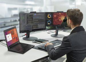 Lenovo ThinkPad P43s opiera się na procesorze ósmej generacji Intel Core i7 z vPro